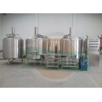 Buy cheap 1000Lsteam jacket beer brewery system with CE & UL from wholesalers