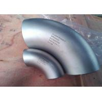 Buy cheap 304 321 316 Stainless Steel Fittings , Sms 316l SS 90 Degree Elbow For pipeline from wholesalers