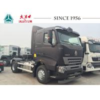 Buy cheap HOWO A7 4X2 6 Wheeler Truck , Durable Tractor Trailer Unit Large Load Capacity from wholesalers
