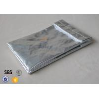 Buy cheap Fiber Glass Cloth Fireproof Document Bag /  6.7x 10.6 Fire Resistant Envelope from wholesalers