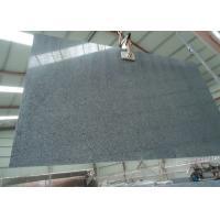 China Nero Impala Granite Stone Slabs Sesame Black Granite For Bathroom