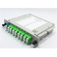 Buy cheap Plug - In Plastic PLC Splitter Module With Wide Operating Wavelength Range from wholesalers