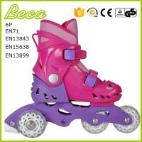 Buy cheap wholesale adjustable outdoor sports quad speed skates from wholesalers