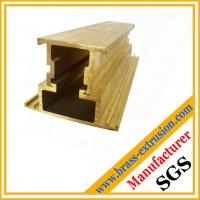 Buy cheap two components jointed brass extrusions suppliers for window and door extrusions profile from wholesalers