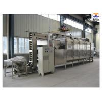Buy cheap 304 Stainless Steel Nut Roasting Equipment , Cashew Nut Roasting Processing Line product