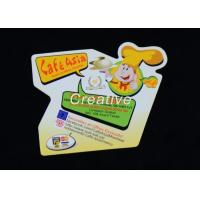 Buy cheap 0.5mm Magnets Vinyl Paper Printed Fridge Magnets With Gloss Varnish product