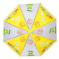 Buy cheap Promotional Auto Open Kids Rain Umbrellas With Heat Transfer Printing from wholesalers