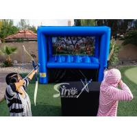 Buy cheap Kids N Adults Indoor Inflatable Archery Tag Game With Hover Balls For Archery Target Sports from wholesalers