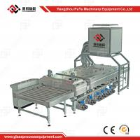 Buy cheap Small Construction PLC Glass Washing Machine After Glass Grinding from wholesalers