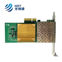 Buy cheap F904T Intel I350 ethernet controller PCIe Gigabit Quad Port RJ45 Optical Network Card from wholesalers