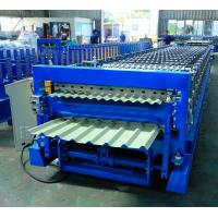 Buy cheap Metal Roofing Panel Double Layer Roll Forming Machine 12-15m/Min Capacity from wholesalers