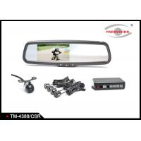 Buy cheap Bumper Mounting TFT LCD Car Rear View Mirror Camera SystemInbuilt Beeping  Alarm from wholesalers