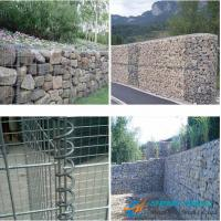 Buy cheap Low Cost Gabion Mesh/Gabion Box With Galvanized Wire, PVC Coated Wire from wholesalers