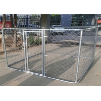 Buy cheap Chain Link Dog Kennel Fencing 1.8m x2m x 3m Mesh 60mm*60mm Diameter 2.2mm from wholesalers