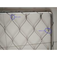 Buy cheap Stainless steel rope mesh frame from wholesalers