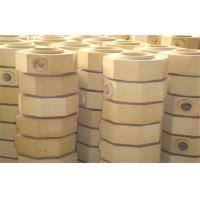 Buy cheap Dry Pressed Cement Kiln Refractory Brick Fire Clay Bricks For Ingot Steel Casting from wholesalers