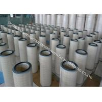 Buy cheap Anti - Static Gas Filter Cartridge Long Life Span For Painting Room Dust Collecting from wholesalers