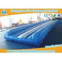 Buy cheap Flame Retardant Inflatable Sport Games , Air Gymnastics Equipment Tumble Track from wholesalers