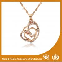 Buy cheap Gold Plated / Silver Plated Metal Chain Necklace Jewellery ECO Friendly from wholesalers