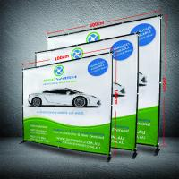 Buy cheap 8 X 8 Collapsible Display Stand, Dye - Sub Printing Retractable Banner Display from wholesalers