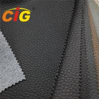 Buy cheap Anti Scratch Super Strong Synthetic Polyurethane Leather Fabric For Car Decorative product