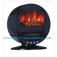 Buy cheap High Efficiency 2KW Rotating Fireplace Classic Flame Electric Fireplace For Villas from wholesalers