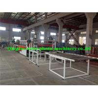Buy cheap WPC Plastic Board Production Line / Making Machine For Construction 5mm - 20mm from wholesalers