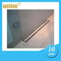 Buy cheap Floor stainless steel channel shower drain / rectangular shower drain from wholesalers