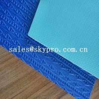 Buy cheap Durable eva shoe sole blue and green 3D printing 2-6 mm Thickness from wholesalers