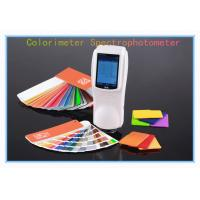 Buy cheap Plastic color measuring spectrophotometer NS800 45/0 with Integrating Sphere from wholesalers