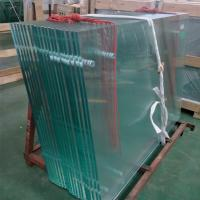 Buy cheap High Safety Frameless Balcony Balustrade Handrail Ultra Clear Tempered Glass from wholesalers