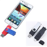 Buy cheap Smartphone OTG Metal USB Flash Drives  8GB 16GB apply for Android mobile phone from wholesalers