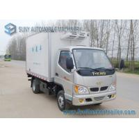 Buy cheap CNG & Gasoline Refrigerated Box Truck 78 HP / 88 HP 3 ton refrigerated truck 4x2 from wholesalers
