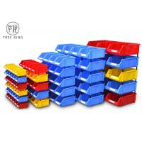 Buy cheap Heavy Duty Standing Plastic Bin Boxes , Hardware Storage Bins  For Spare Parts from wholesalers