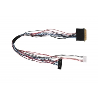 Buy cheap Lcd Backlight Screen LVDS Cable Assembly from wholesalers