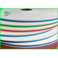 Buy cheap Food Grade Colorful Straw Paper 13.5mm 14mm 60g / 120g In Rolls Grade In AA from wholesalers