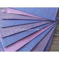 Buy cheap Good Looking Purple EVA Foam Glitter Sheets For Toys / Decoration , No Woven Materials from wholesalers
