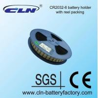 Buy cheap cr2032-6 reel packed battery holder from wholesalers