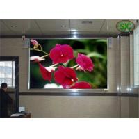 Buy cheap HD railway / school indoor advertising led display board Steel or aluminum Cabinet from wholesalers