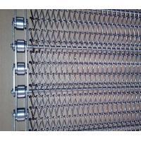 Heat Resistant Metal Mesh Conveyor Belt , Chain Drive Conveyor Customized Width
