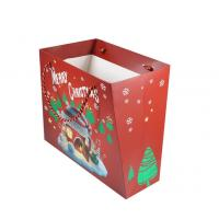 Buy cheap Customized Size Personalised Printed Gift Bags Coated Paper Material For Christmas product