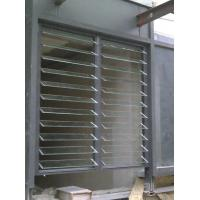 Buy cheap Glass Adjustable Shutter Window / Meeting Room Interior Vertical Venetian Blinds from wholesalers