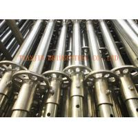 Buy cheap Construction Steel Scaffold Tube / Frame Scaffolding, WT 2.4mm - 4.0mm SCH30, SCH40 from wholesalers
