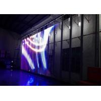 China Ultra-thin( 10mm) see-through Transparent LED display full color Video glass screen on sale
