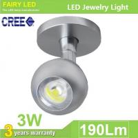 Buy cheap Universal Angle-adjustable CREE LED Cabinet Light LED Jewelry Light 3W from wholesalers