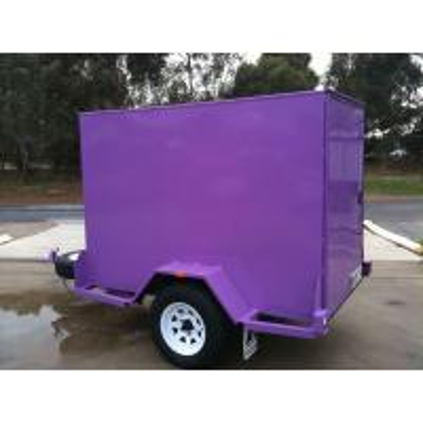 Cargo Brand Furniture: Custom 6 X 4 Enclosed Trailer , Small Enclosed Cargo