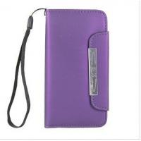 Buy cheap Wholesale iPhone 6 covers,PU Leather Magnetic Flip Case Cover For iPhone 6 - Purple from wholesalers