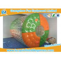 Buy cheap Custom Color Dots Inflatable Water Roller Rolling Down Hill With CE Blower / Pump from wholesalers