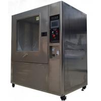 Buy cheap Lab Environment IP Grade Sand Dust Test Chamber , 3 Phase Dust Testing Equipment from wholesalers