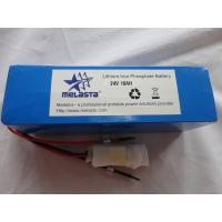 Buy cheap 25.6V 10ah LiFePO4 Battery Pack for Eelectric Scoote from wholesalers